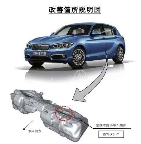 F20 BMW1シリーズ リコール