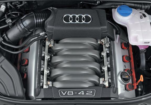 アウディS4 V8エンジン