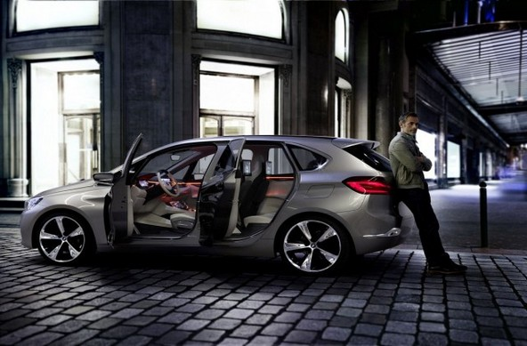 BMW218d 燃費