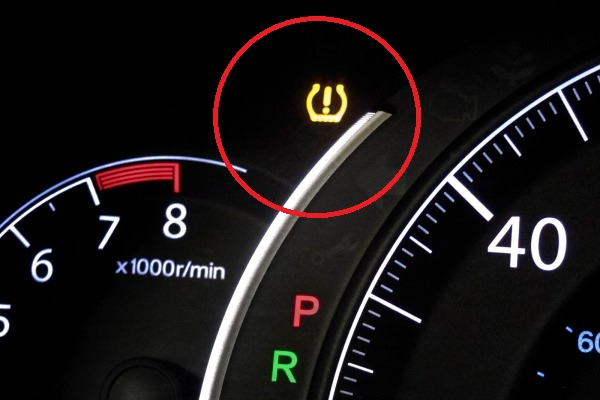 タイヤプレッシャーセンサー 故障