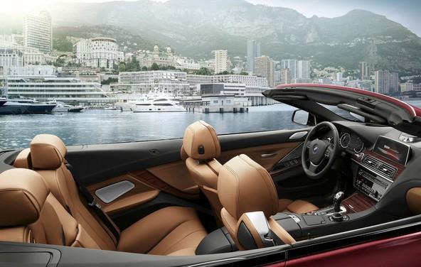 BMW6シリーズカブリオレ 内装