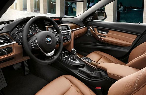 BMW320d 内装