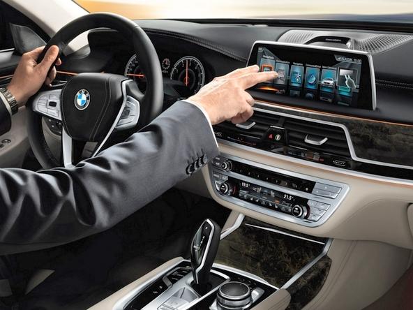 BMW7シリーズ インテリア