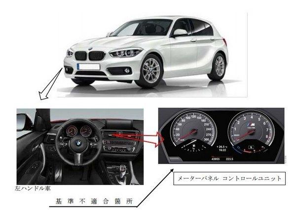 BMW メーターパネル リコール