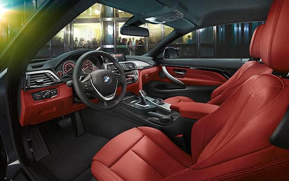BMW420i 室内