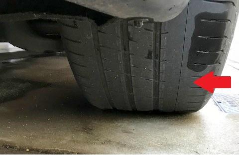 クアトロポルテ-タイヤ交換